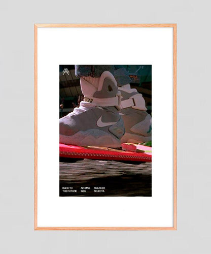 Digital print  Back to the Future | Air Mag 1985