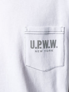 U.P.W.W. Basic Pocket Tee White