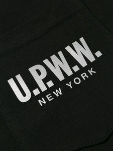 U.P.W.W. Basic Pocket Tee Black