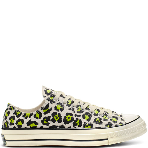 Converse Chuck 70 Archive Print Low Top Leopard Yellow