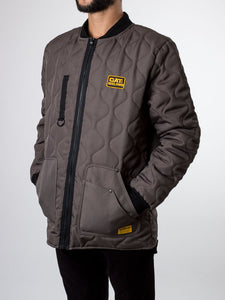 Caterpillar Army Quilted Jacket