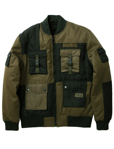 Tactical Bomber Jacket fronte