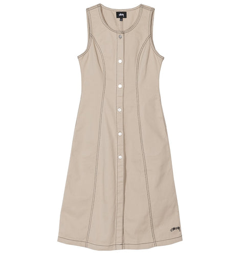 Stussy W' Abito Bailey Contrast Stitch Dress