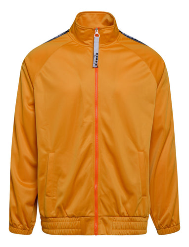 Diadora Track Jacket Trofeo Orange Mustard