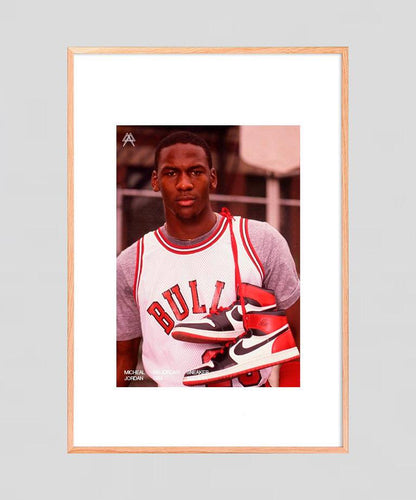 Digital print  MICHAEL JORDAN | Air Jordan 1 1985