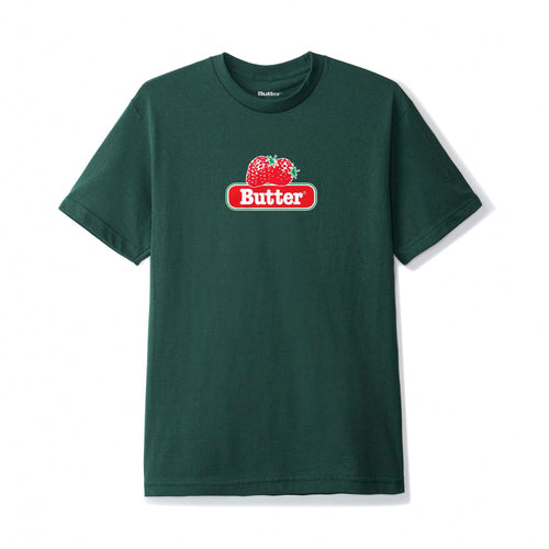 Buttergoods Berry tee green