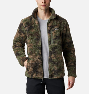 Giacca Sherpa Winter Pass Como front indossata