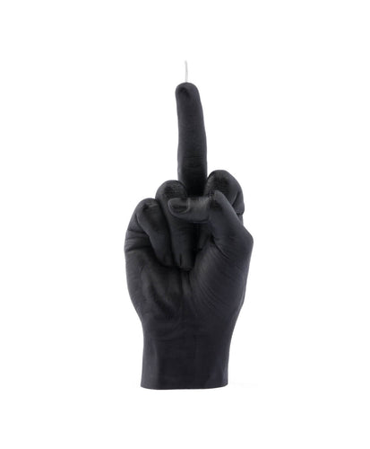 HAND GESTURE CANDLE F*CK YOU black