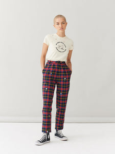 Lazy Oaf x Peanuts Character Repeat Check Pants