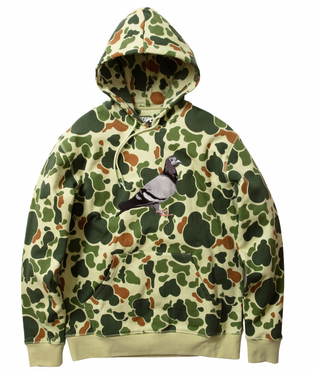 Staple Pigeon Logo Hoodie Camouflage front