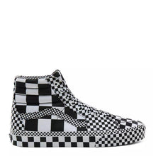 Carica l'immagine nel visualizzatore di Gallery, Vans All Over Checkerboard SK8-HI Black/White