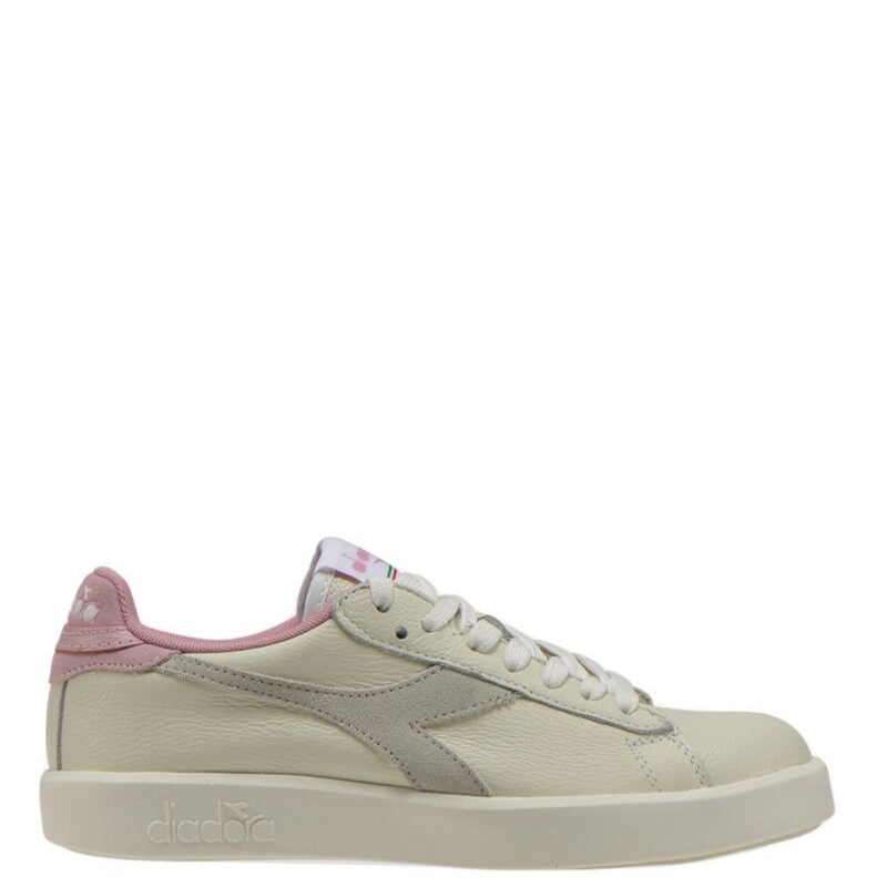 Diadora Game Wide L White/Cameo Pink