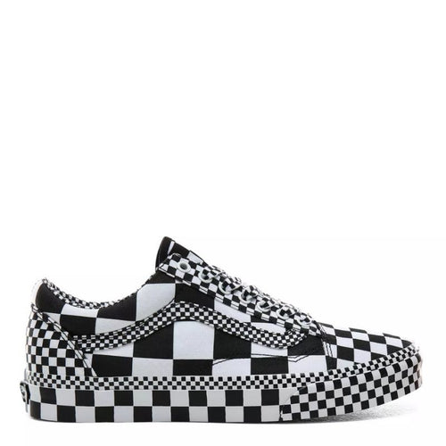 Vans All Over Checkerboard Old Skool Black/White