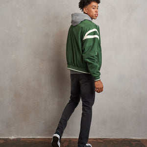 Russell Athletic Duke Bomber indossato retro