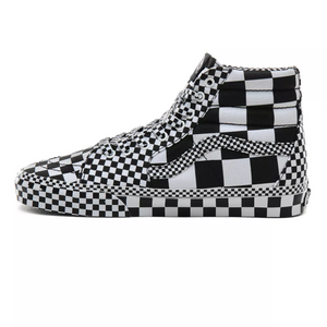 Vans All Over Checkerboard SK8-HI Black/White