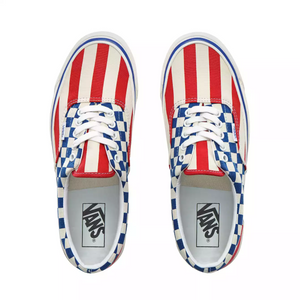Vans Anaheim Factory Era 95 Dx Og Red Stripes/Og Blue check
