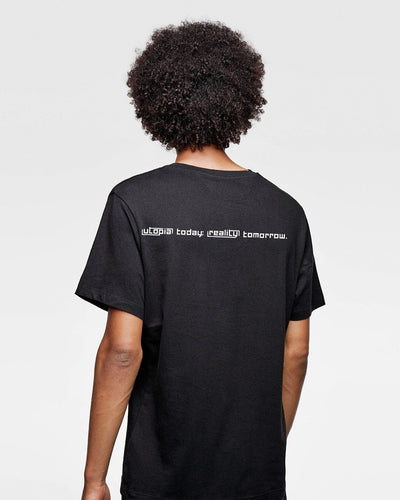INSIDE UTOPIA T-shirt Black