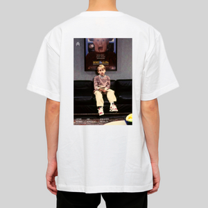 Home Alone T-shirt Bianca indossata retro