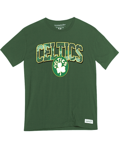 Worn Logo/Wordmark Tee Boston Celtics