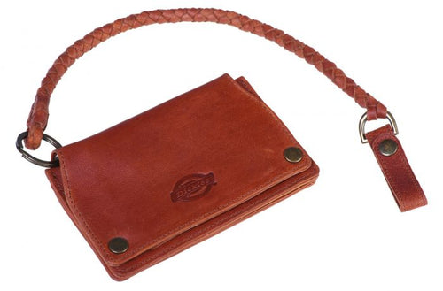 Dickies Barren Springs Leather Wallet brown