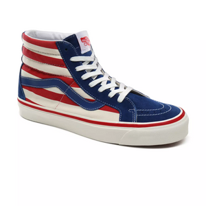 Vans Anaheim Factory Sk8-Hi 38 DX Og Blue/Og Red stripes