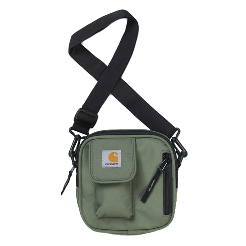 Carhartt Shoulder Bag | Essentials Bag Adventure Green - inside-soulfulsore