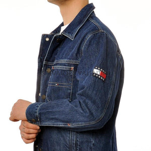 Tommy Hilfiger Giacca Oversize In Denim - inside-soulfulsore