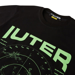 Iuter T-shirt Radar Tee Black