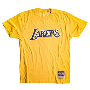 Worn Logo/Wordmark Tee Los Angeles Lakers