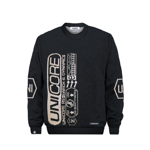 Unicore Gravity sweater black