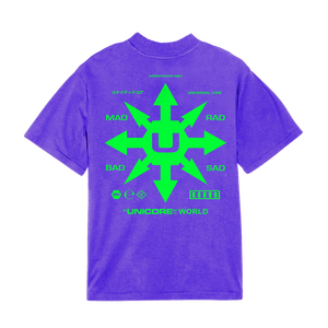 Unicore tshirt logo purple