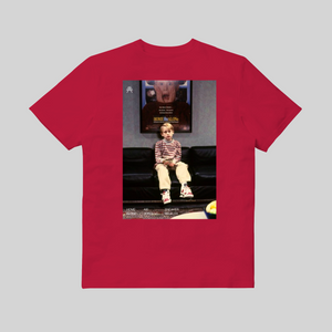 Home Alone T-shirt Rossa retro