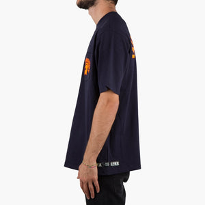 U.P.W.W. Basic Pocket Tee Blue/Orange
