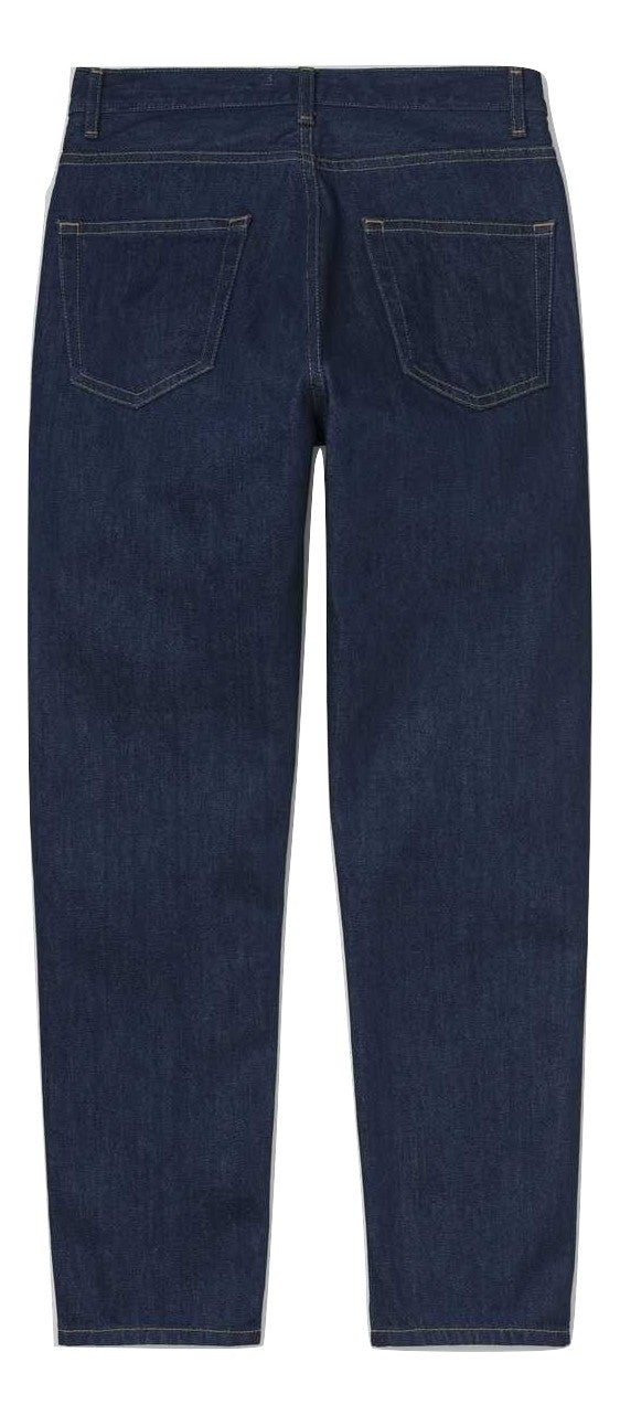 Carhartt  W' Page Carrot Ankle Pant blue rinsed
