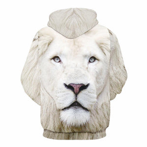 White Lion Unisex Hoodies
