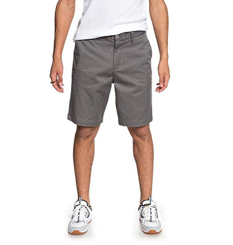 DC Worker Straight Grey Men's Short-Dc-CoastalSurf