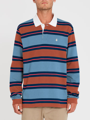 Volcom Sumpter Polo China Blue-Volcom-CoastalSurf