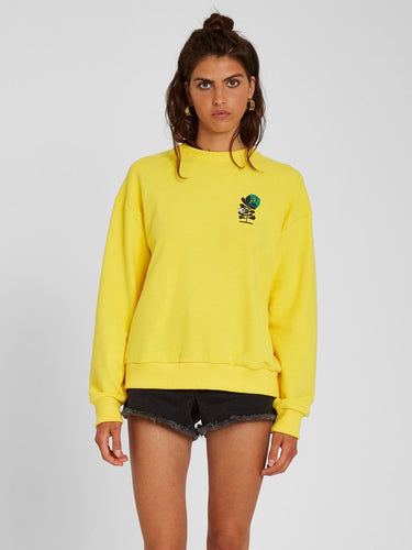 Volcom Volcheck Fleece Acid Lemon-Volcom-CoastalSurf