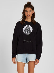 Volcom Volcheck Fleece Black-Volcom-CoastalSurf
