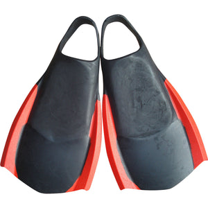 Sola Funboard Fins BLACK/ORANGE Fins-Sola-CoastalSurf