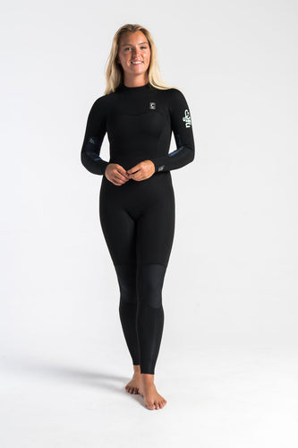 C Skins Solace 3/2 Back Zip Ladies Wetsuit-C Skins-CoastalSurf