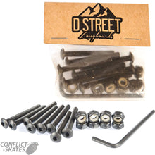 "Load image into Gallery viewer, D Street Bolts Skate Bolts 1 1/2""-D Street-CoastalSurf"