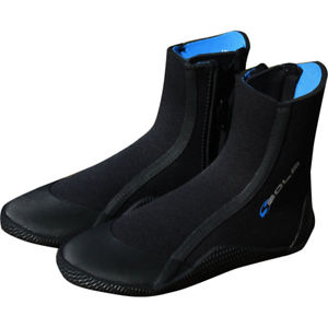 Sola Kids Zip Wetsuit Boot 5mm-Sola-CoastalSurf