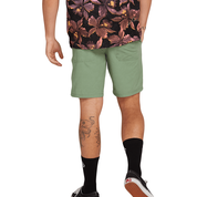 Snt Faded 19 DARK GREEN Mens Walkshort-Volcom-CoastalSurf