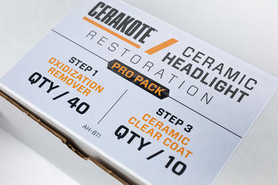 Cerakote Ceramic Headlight Restoration Pro-Pack