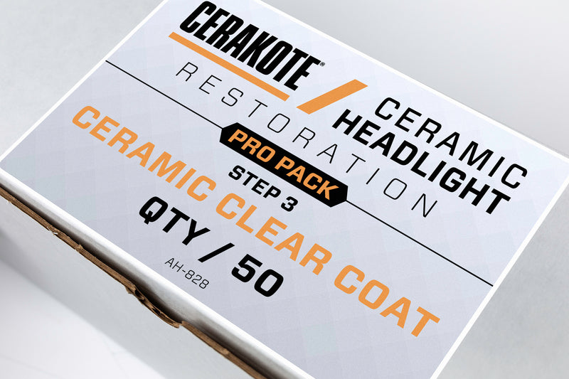 Cerakote Headlight Ceramic Pro-Pack (Step 3)