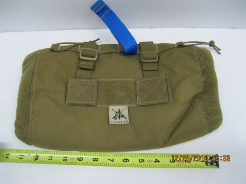 FHF Gear Muff With Primaloft Coyote MOLLE * Hand Warmer * W/ Blue Strap