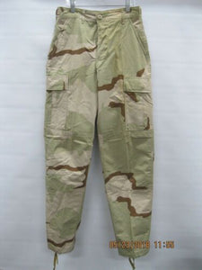 USGI 3-Color Desert Pants XS-Reg * New/Other * Poly/Cotton Ripstop