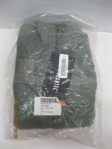 POLARTEC Fleece Jacket Cold Weather ( GENIII ) Foliage Large Long