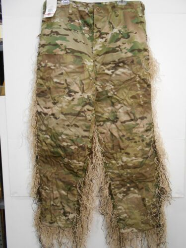 *CUSTOMIZED* TRU SPEC 1221 Multicam Pants LARGE REGULAR BDU by ghilliesuits.com